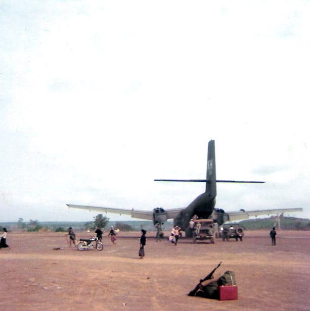 Caribou C7a In Vietnam